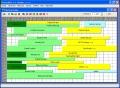 Grafický kalendář - plán